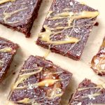 RECEPT: vegan brownies met salted caramel