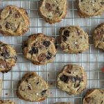 RECEPT: salted caramel chocolate chunk shortbread koekjes