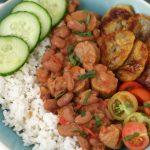 RECEPT: vegan Surinaamse bruine bonen met rijst