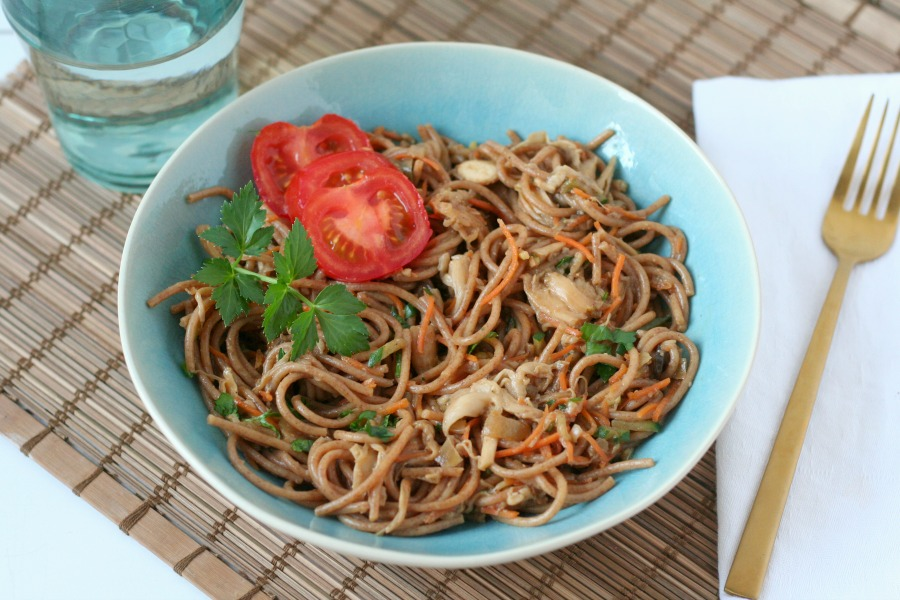 recept Javaanse bami vegan Surinaamse bami maken