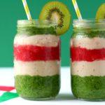 RECEPT: gezonde drie kleuren smoothie