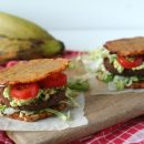 recept plantain sandwich bakbanaan burger