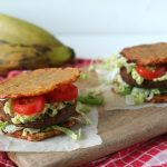 RECEPT: bakbanaan burger (plantain sandwich)