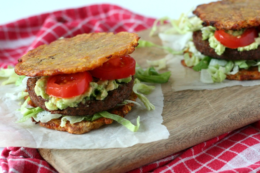 recept bakbanaan burger plantain sandwich