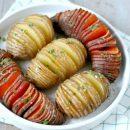 hasselback potatoes recept hasselback aardappelen