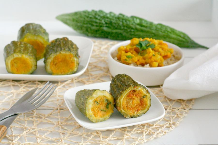vegan gevulde sopropo zoete aardappel nieuw recept
