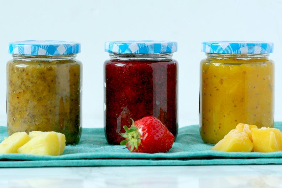 homemade jam zonder suiker recept