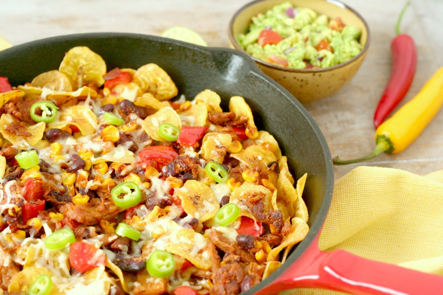 plantain nachos bakbanaan nachos recept
