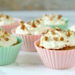 RECEPT: luchtige zoete aardappel cupcakes