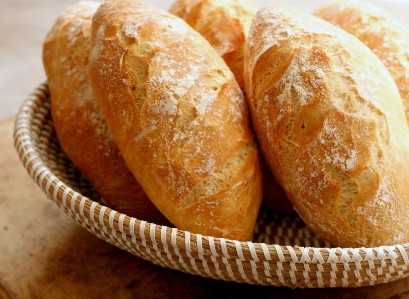 recept knapperige Surinaamse witte puntjes no knead bread
