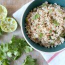 recept limoen koriander rijst lime cilantro rice